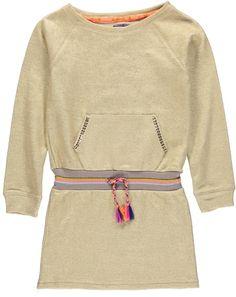 Kidz-Art jurk goud