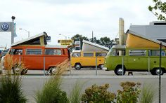 three little campers by vw-busman, via Flickr