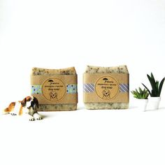 Dog Soap 2 Pack by Janell Anderson