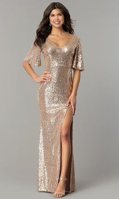 40+ Long Sequin Evening Gowns Ideas. Western Formal ... abbff2d9880d