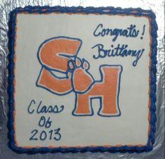 Sam Houston State cake