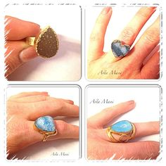 #Blue #agate #stone #Ring #StoneRing #BlueRing by #AstaMani on #Etsy #instagram #pinterest #druzy #druzyring #agatering #adjustablering #goldring #drusy #drusyring #gifts #holidays #holidaygift #giftideas #giftsforher #jewelry #rings #hearts #astamanidesigns #astamanijewelry #pinit #supportsmallbusinesses #happyholidays