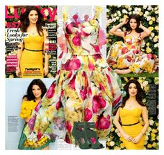 """""""Ashley Greene~Lucky Magazine March 2012"""" by fashion10496 ❤ liked on Polyvore featuring Dolce&Gabbana and Max Studio"""