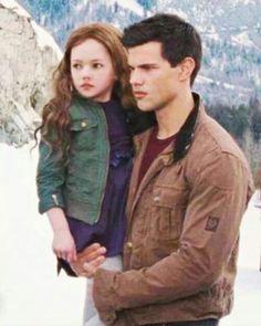 Twilight Saga Series, Twilight Book, Twilight Cast, Tv Series, Twilight Breaking Dawn, Breaking Dawn Part 2, Jacob Black, Twilight Jacob And Renesmee, Chica Cool