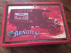 Arnott s Arnotts History And Tradition Edition Tin Used Empty 2008 Collectable