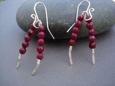 You've got a WISH bone. Genuine Brazilian red ruby wish bone earrings.https://www.etsy.com/listing/224663424/ruby-gemstone-wishbone-earrings-genuine?ref=shop_home_active_22