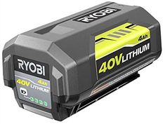 Ryobi 40V 4.0 Ah Lithium-Ion Battery OP4040 - - Amazon.com Victoria Shoes, Ryobi Battery, Propane Gas Grill, Cordless Circular Saw, Wrench Set, Lawn Care, Online Shopping Stores, Rocking Chair