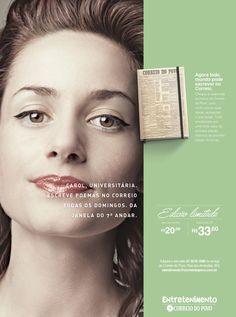Campanha de lançamento de agenda de anotações do jornal Correio do Povo.