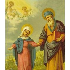 Mary's father, St. Joachim