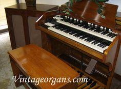 Vintage Hammond Church Organs 1959 C3 Qr40 Tone Cabinet