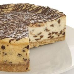 I wish I lived there! Gluten Free Chocolate Chip Cheesecake  Local by TheFlourGarden, $24.95