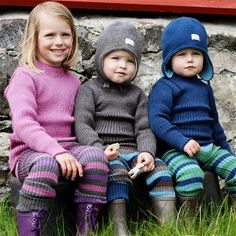 striped leggings by nostebarn