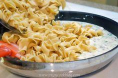 Healthified Skillet Tuna Noodle Casserole
