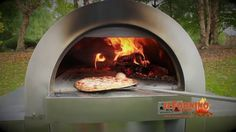 Cheesy Wood Fired Pizza by ilFornino! A simply baked wood fired pizza.. perfect for kids and adults!  Watch out the video for the full recipe. Enjoy your pizza in 90 seconds..! #woodfiredpizzaoven #CheesyPizza #ilFornino