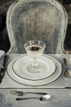 Rustic table setting