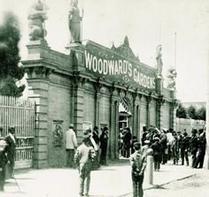 The entrance to Woodward's Gardens in the Mission District - the scene of many an amusement