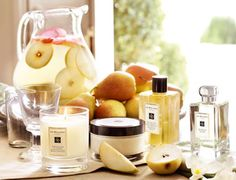 love Jo Marlone's lotion, perfume and candle!