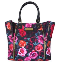 Betsey Johnson Women's Roses Are Red, Violets Are Blue Tote Handbag, Red Betsey Johnson,http://www.amazon.com/dp/B00EAQPROO/ref=cm_sw_r_pi_dp_kNoqsb1Q6R5062RX
