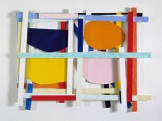 Imi Knoebel's Professional Commitment to Color and Shape Imi Knoebel, Geometric Sculpture, Diy Artwork, Artist Sketchbook, Art And Craft Design, Photography Illustration, Spring Art, Collage Artists, To Color