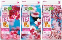 午後の紅茶に、心ウキウキ「さくら香るピーチティー」が登場!--パッケージデザインは蜷川実花さん