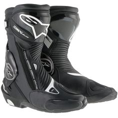 Alpinestars S-MX Plus Boots - Black