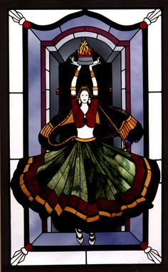 ece3a2f42ef720 83 Best Stained Glass - Dance images in 2019