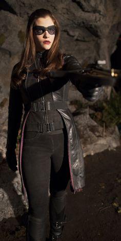 Arrow - Birds of Prey - Jessica De Gouw as the Huntress