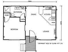 Image Result For Double Garage Converted To Flat Granny Flat Cottage Floor Plans Granny Pod