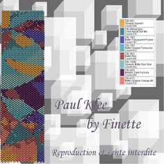 Paul Klee Pattern - The world of Finette