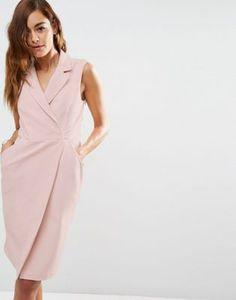 Платье-смокинг без рукавов ASOS