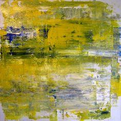 """""""Objekt 110"""" - 30""""x30"""" Acrylic on Canvas 2015"""