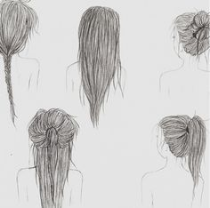 Now I know how to draw hair!