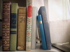 Old books have such appealing bindings.