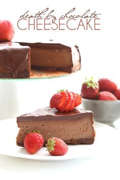 Want the ultimate low carb cheesecake experience? This is it! Keto, grain-free, chocolatey heaven!