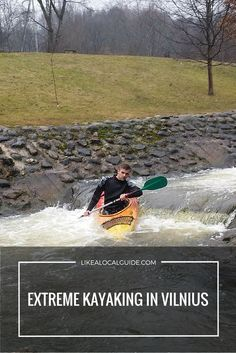 Lithuania's Vilnelė River is perfect for kayaking. If you enjoy extreme activities, our adventurous 3-hour kayaking trip is a great way to spend your free time in Vilnius! https://www.likealocalguide.com/vilnius/tours/extreme-kayaking-in-vilnius