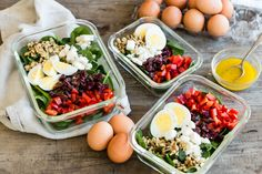 Antioxidant power blend salad pete and gerry's organic eggs Salad Recipes For Parties, Salad Recipes Video, Healthy Salad Recipes, Clean Eating Recipes, Healthy Eating, Healthy Food, Anti Oxidant Foods, Organic Eggs