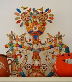Mexican Folk Art by Teyacapan, via Flickr