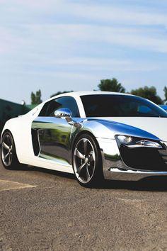 Chrome Plated Audi R8