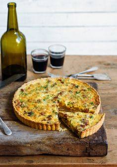 From The Kitchen: gruyere cheese & bacon tart with celeriac & cauliflower soup