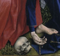 Weyden, Roger van der - Descent from the Cross. Detail