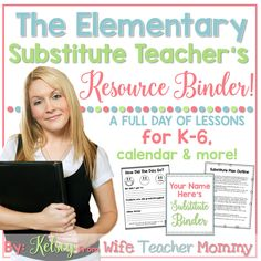 7 classroom management secrets for substitutes pinterest substitute teacher resource binder fandeluxe Images