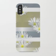 Mix of formal and modern with anemones and stripes 1 iPhone Case by mokkihopero Cool Phone Cases, Iphone Cases, Best Phone, Stripes, Modern, Art, Art Background, Trendy Tree, Kunst