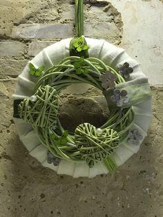 Türschmuck oder Wandschmuck von Florale Manufaktur auf DaWanda.com