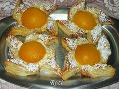 Rozi Erdélyi konyhája: Sárgabarackos szélforgó French Toast, Eggs, Breakfast, Food, Morning Coffee, Egg, Essen, Yemek, Morning Breakfast
