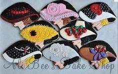 Kentucky Derby Hat Cookies