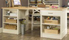 Craft Room Accessories | Islands | Wellborn Cabinets