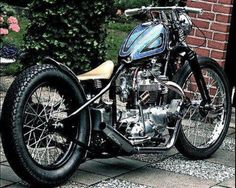 Triumph bobbers, bobbers in general have such a timeless style and cool about them. People can keep their cookie-cutter and uncomfortable sport bikes, I will always be a bobber fiend. Triumph Bobber, Bobber Bikes, Harley Bobber, Bobber Motorcycle, Bobber Chopper, Triumph Motorcycles, Harley Bikes, Triumph Chopper, British Motorcycles