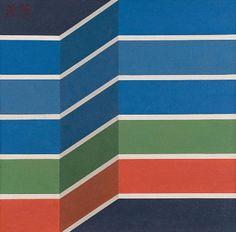 Tipo : Pinturas  Título : s/t  Artista : Mauricio Nogueira Lima  Ano : 1976 Técnica : Acrílica sobre tela colada em eucatex Dim. : 50 x 50 cm