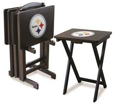 Use this Exclusive coupon code: PINFIVE to receive an additional 5% off the Pittsburgh Steelers TV Trays at SportsFansPlus.com