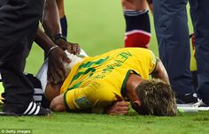Iced: Brazil's World Cup challenge will be significantly more difficult if they are withou...